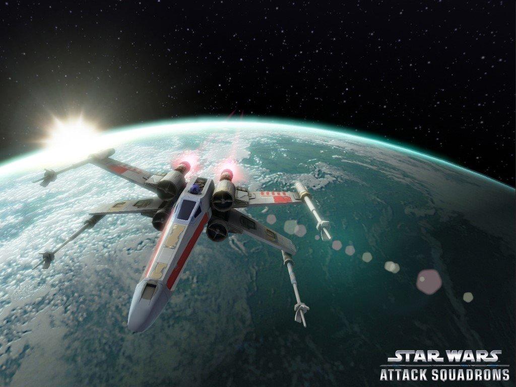 Star Wars Wallpaper: X-Wings