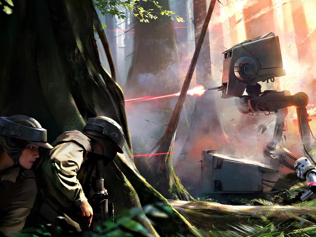 Star Wars Wallpaper: Star Wars Battlefront (2015)