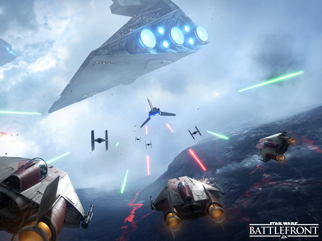 Star Wars Wallpaper: Star Wars Battlefront (2015)