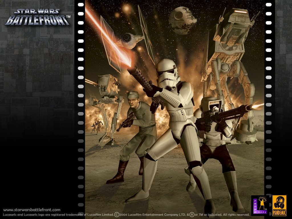 Star Wars Wallpaper: Star Wars Battlefront - Empire Army