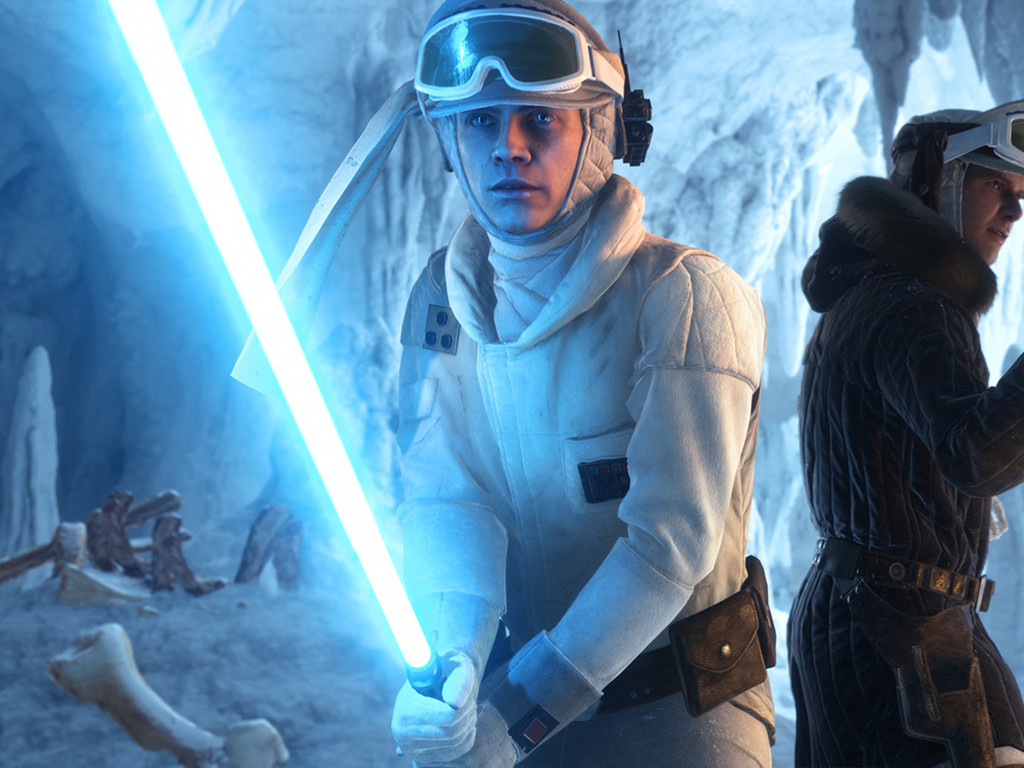 Star Wars Wallpaper: Star Wars Battlefront - Hoth Cave