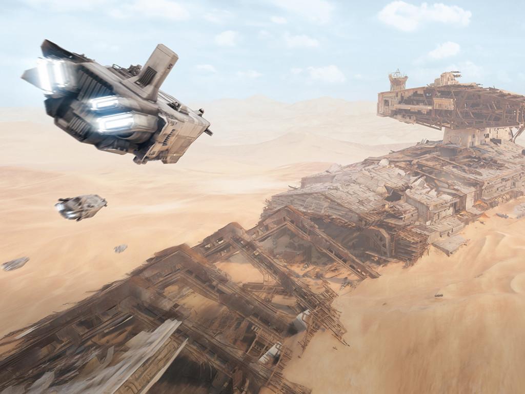 Star Wars Wallpaper: Star Wars Battlefront II - Jakku