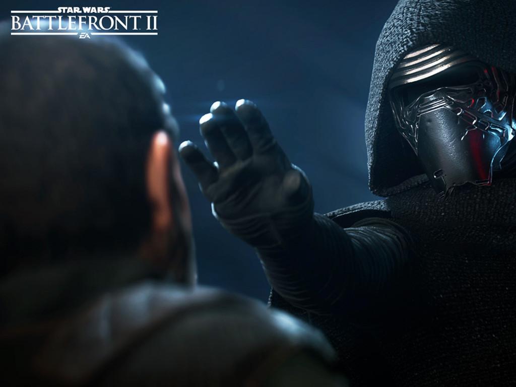 Star Wars Wallpaper: Star Wars Battlefront II - Kylo Ren