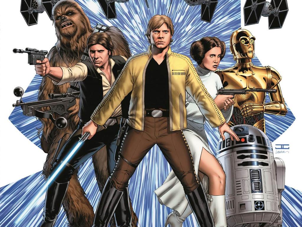 Star Wars Wallpaper: Star Wars (by Cassaday)