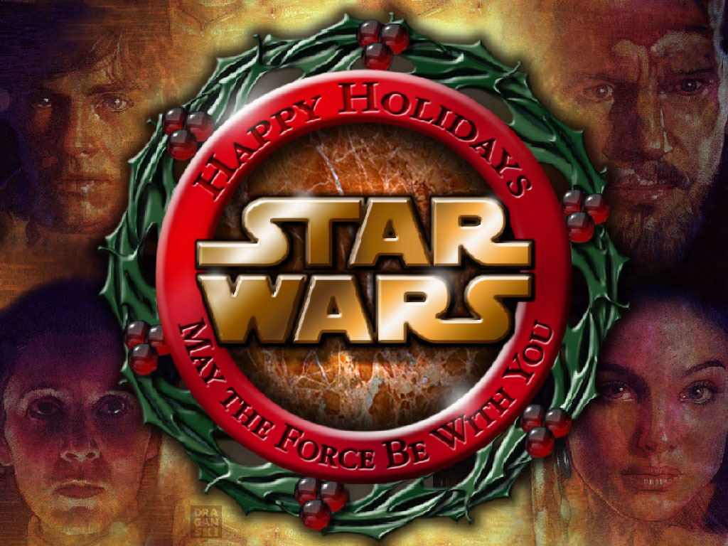 Star Wars Wallpaper: Star Wars - Christmas