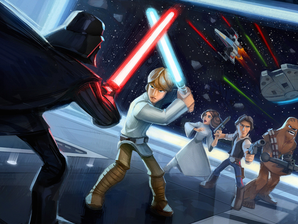 Star Wars Wallpaper: Disney Infinity