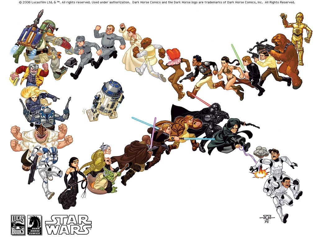 Star Wars Wallpaper: Escapade