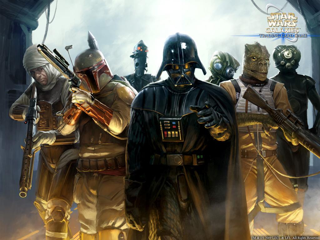 Star Wars Wallpaper: Star Wars Galaxies - Bounty Hunters