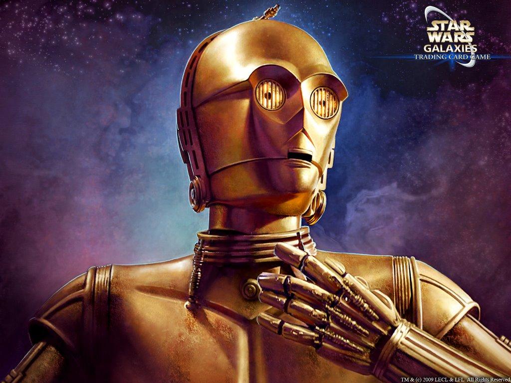 Star Wars Wallpaper: Star Wars Galaxies - C3-Po
