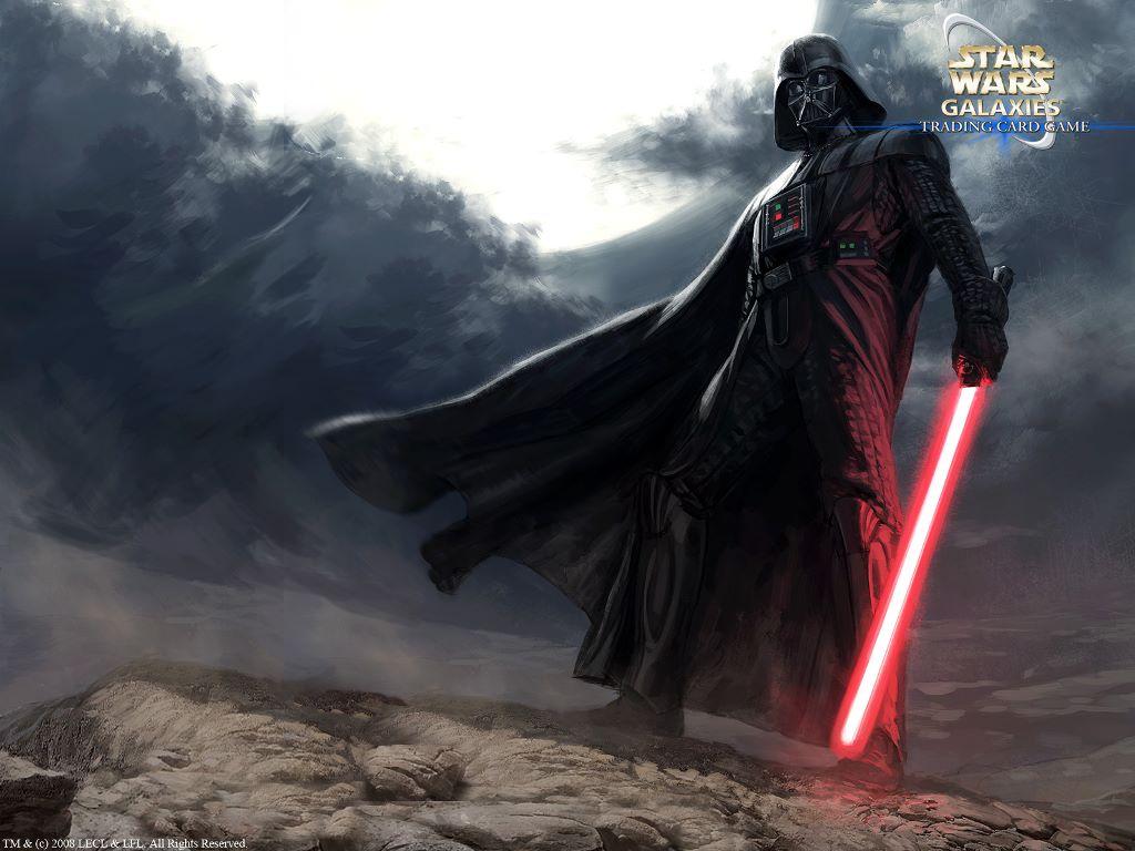 Star Wars Wallpaper: Star Wars Galaxies - Darth Vader