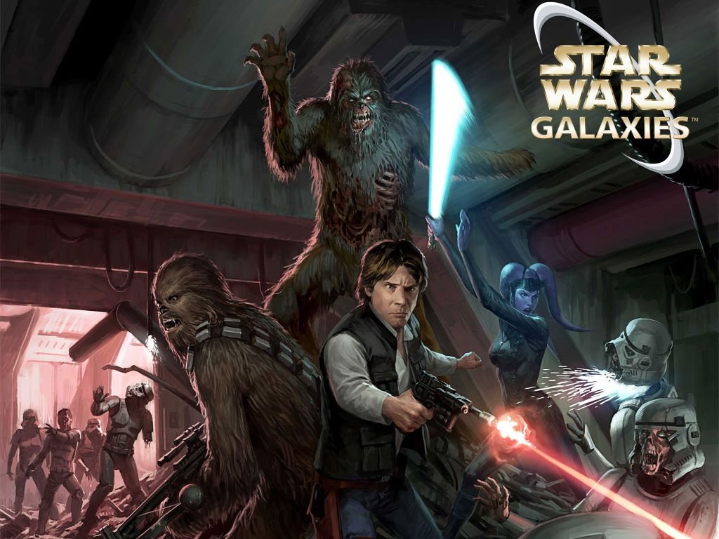 Star Wars Wallpaper: Star Wars Galaxies - Death Troopers