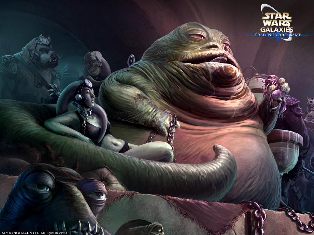 Star Wars Wallpaper: Star Wars Galaxies - Jabba