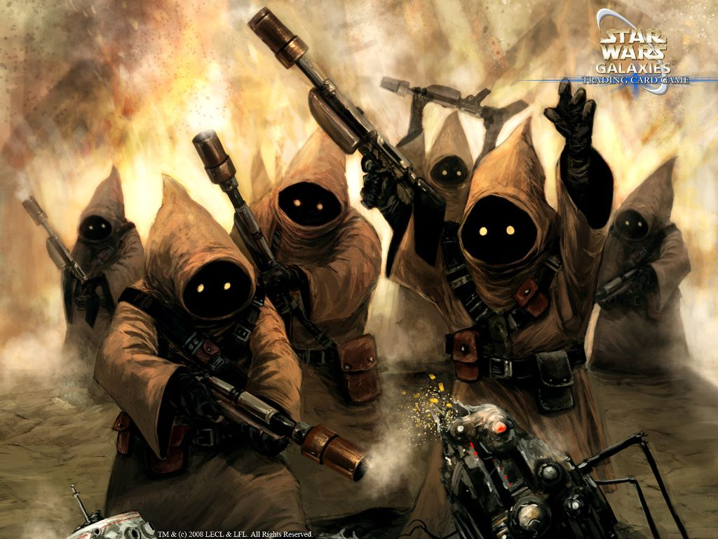 Star Wars Wallpaper: Star Wars Galaxies - Jawas