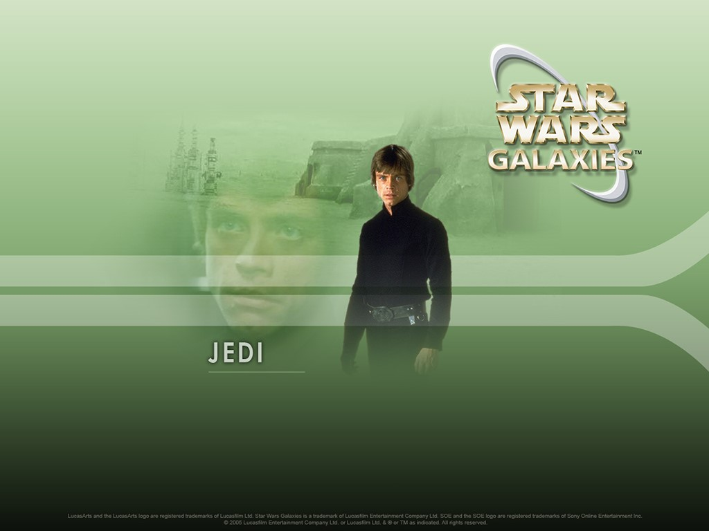 Star Wars Wallpaper: Star Wars Galaxies - Jedi