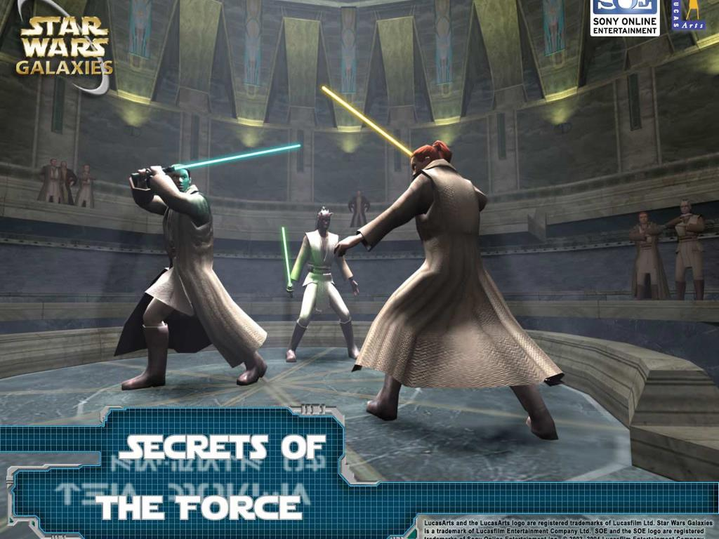 Star Wars Wallpaper: Star Wars Galaxies - Secrets of the Force