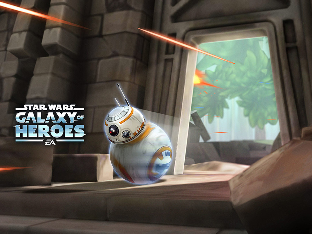 Star Wars Wallpaper: Star Wars Galaxy of Heroes - BB8