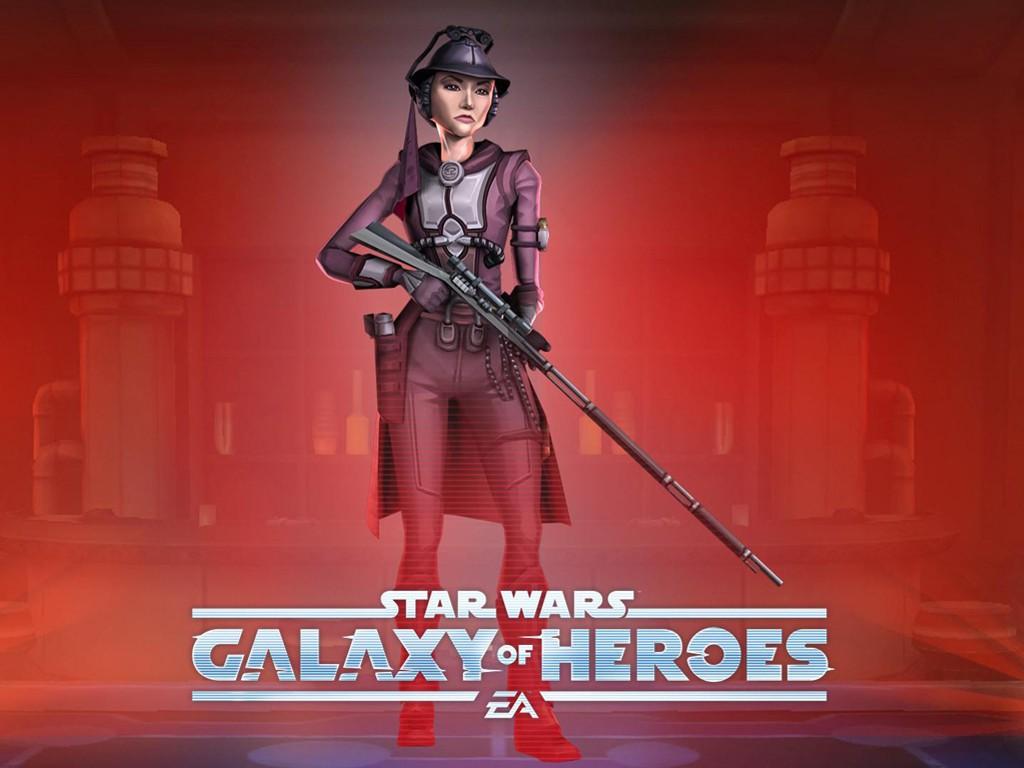 Star Wars Wallpaper: Galaxy of Heroes - Zam Wessel