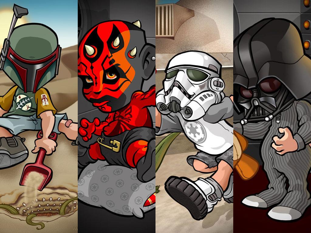 Star Wars Wallpaper: Star Wars - Kids