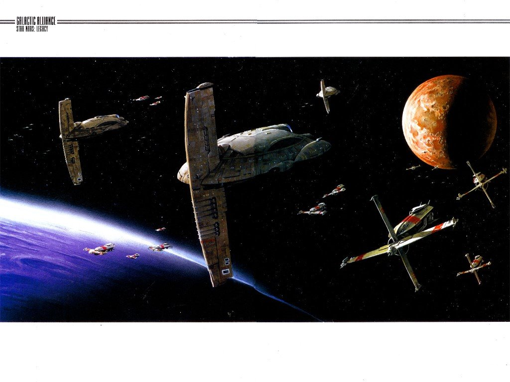 Star Wars Wallpaper: Star Wars - Legacy