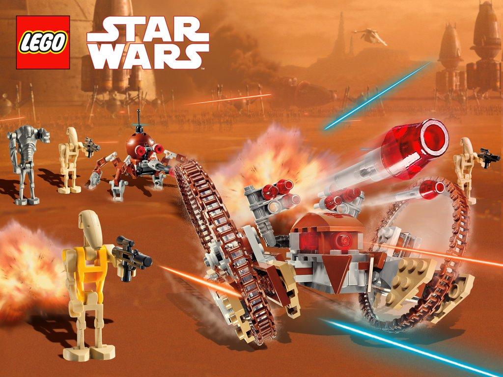 Star Wars Wallpaper: Star Wars - Lego