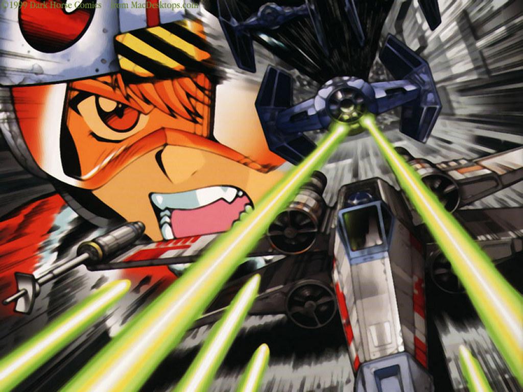 Star Wars Wallpaper: Star Wars Manga - Death Star Assault