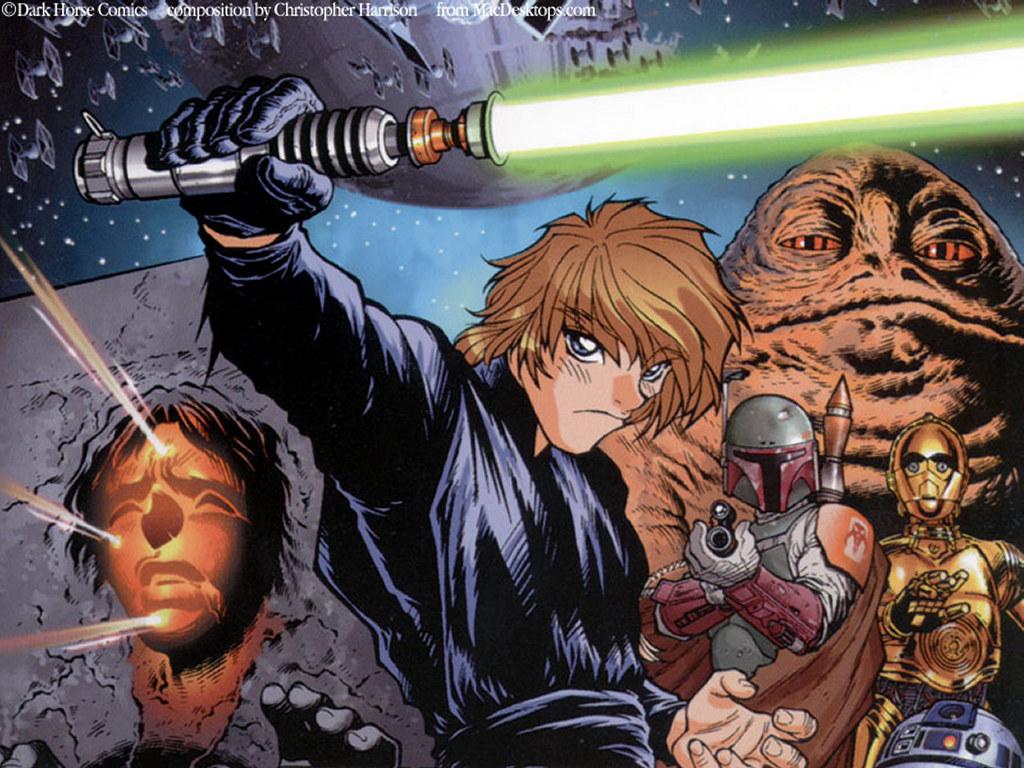 Star Wars Wallpaper: Star Wars Manga - Return of the Jedi