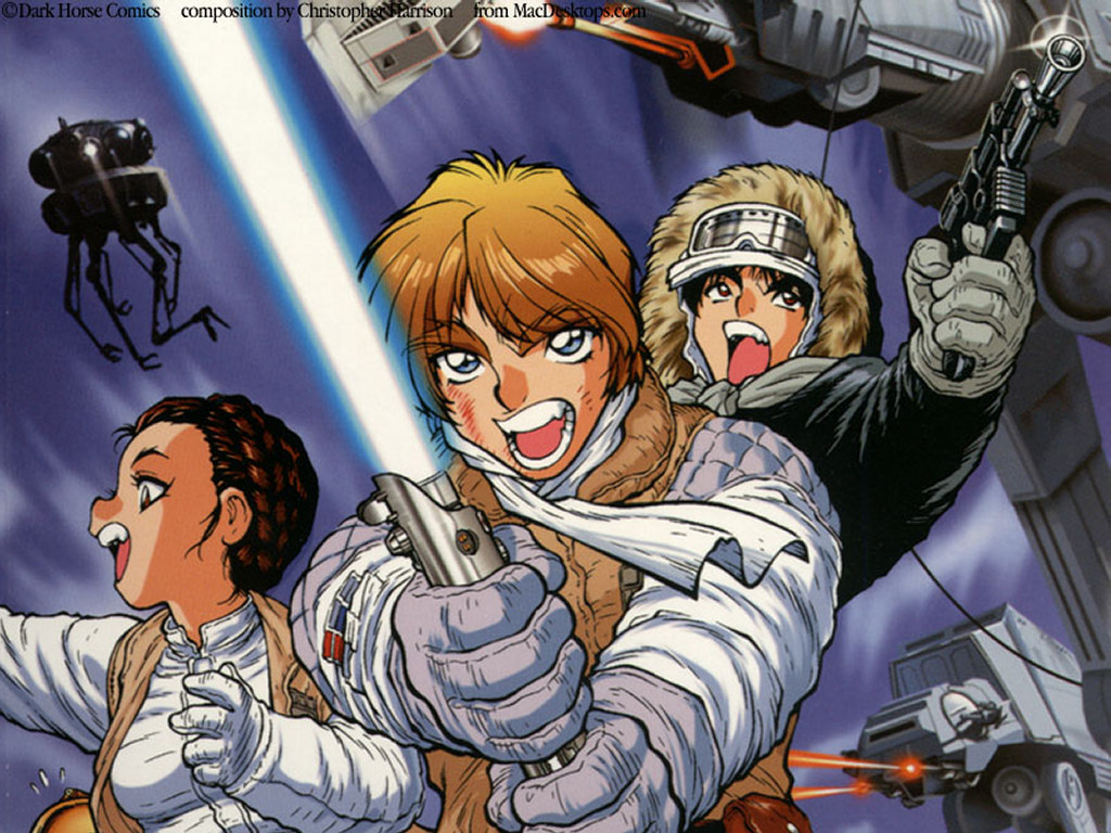 Star Wars Wallpaper: Star Wars Manga - The Empire Strikes Back