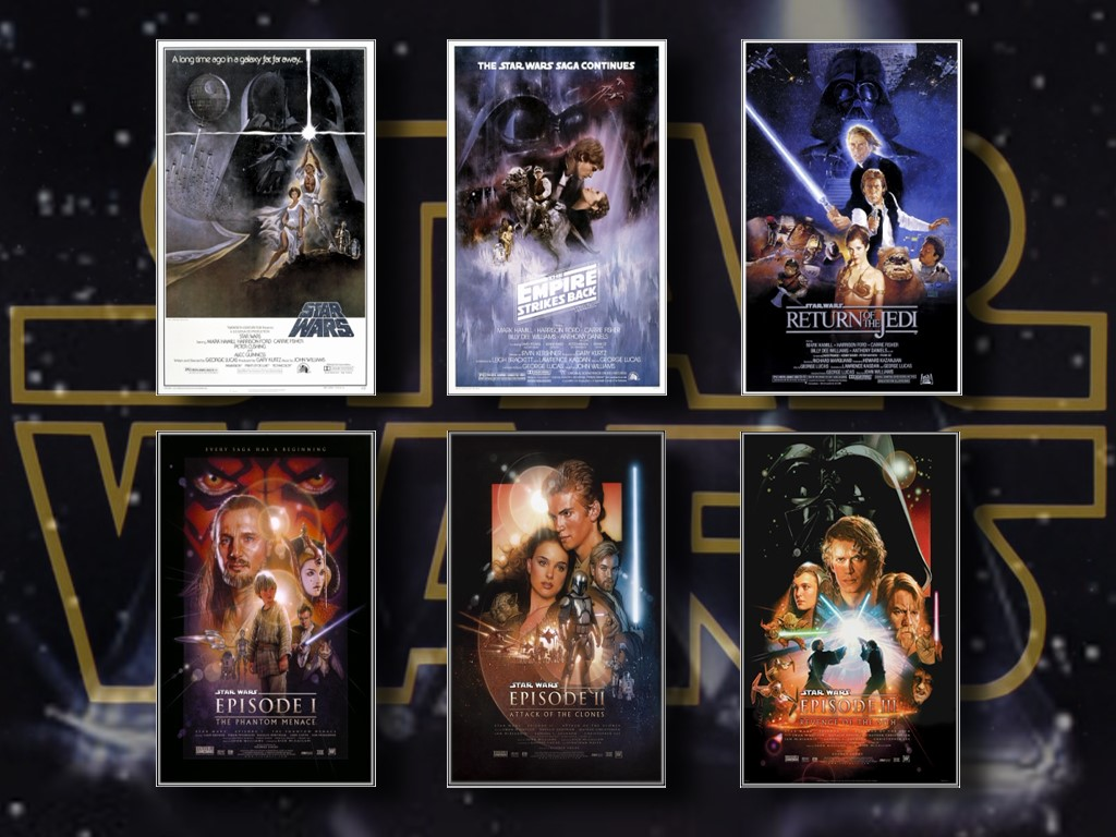 Star Wars Wallpaper: Movie Posters
