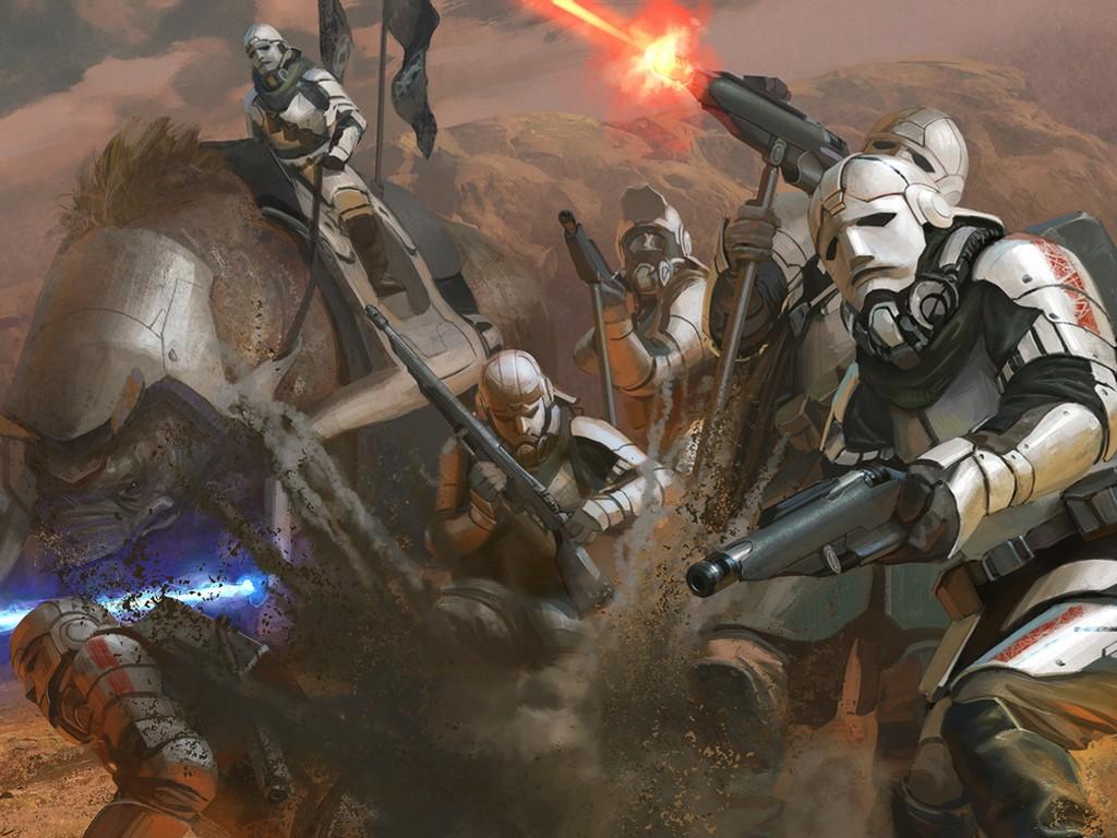 Star Wars Wallpaper: Star Wars Reimagined - Stormtroopers