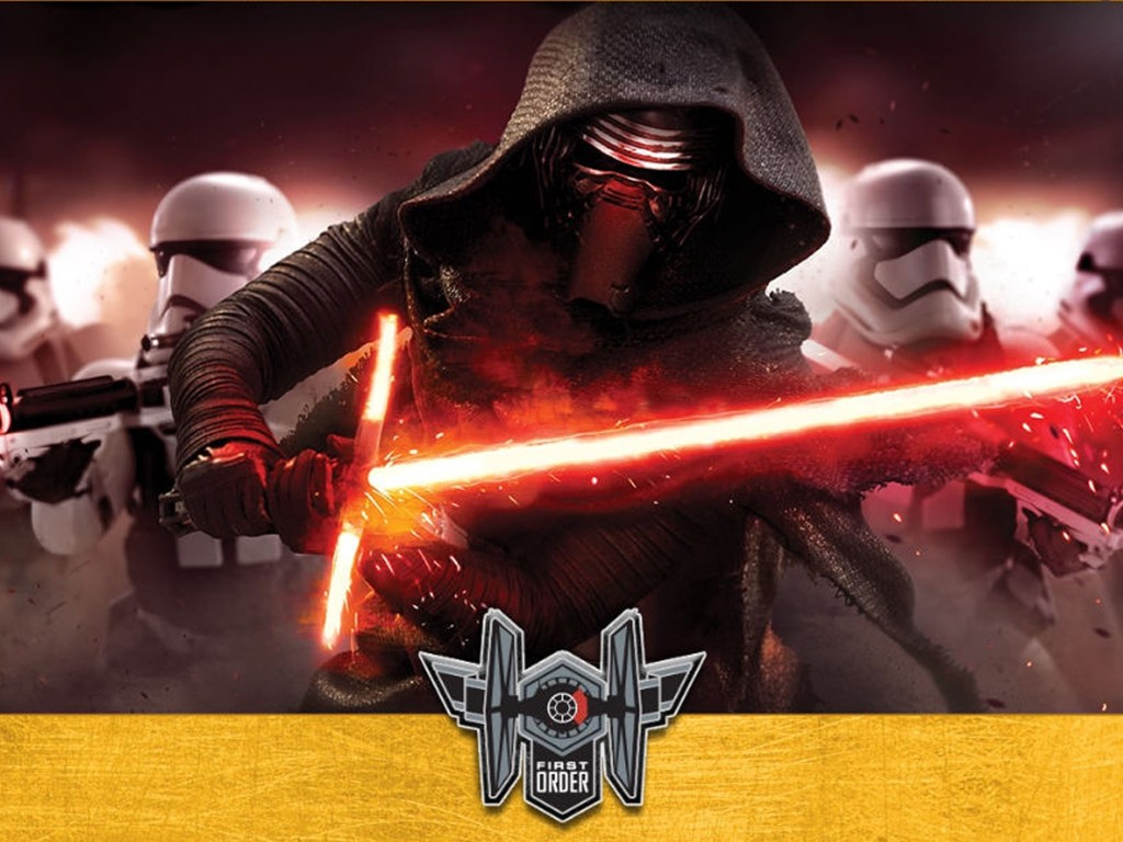 Star Wars Wallpaper: Kylo Ren and the First Order