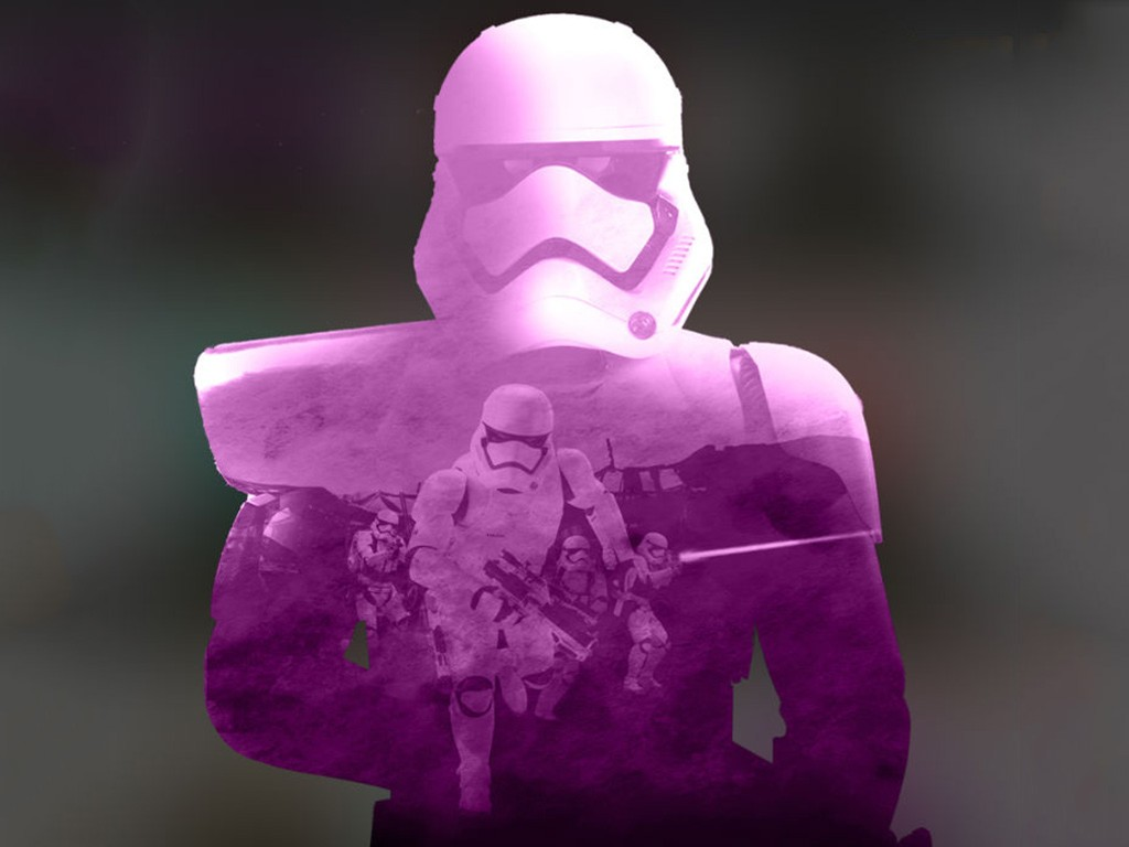 Star Wars Wallpaper: The Force Awakens - First Order Trooper