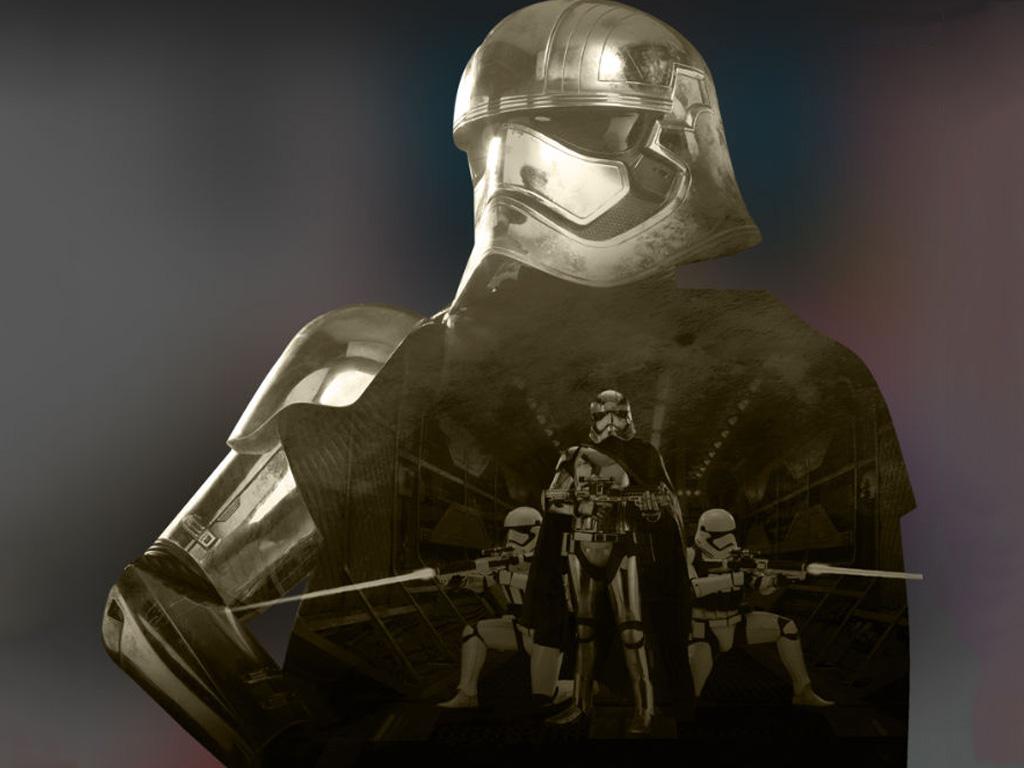 Star Wars Wallpaper: The Force Awakens - Captain Phasma