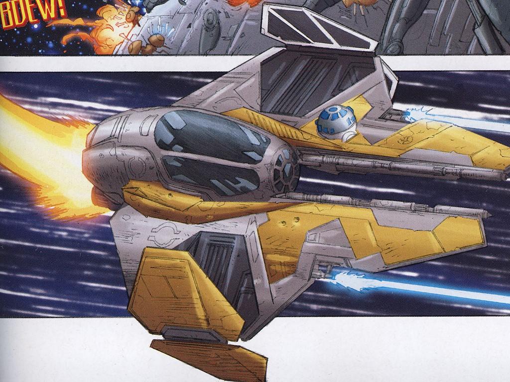 Star Wars Wallpaper: Starfighter