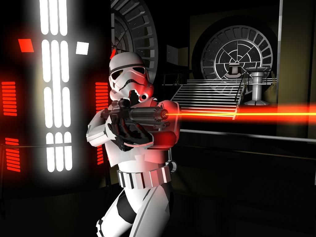 Star Wars Wallpaper: Stormtrooper - Blast