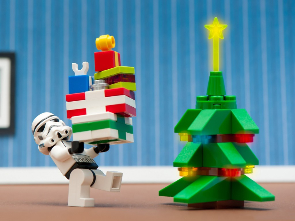 Star Wars Wallpaper: Stormtrooper - Christmas