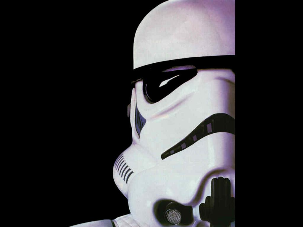 Star Wars Wallpaper: Stormtrooper - Face