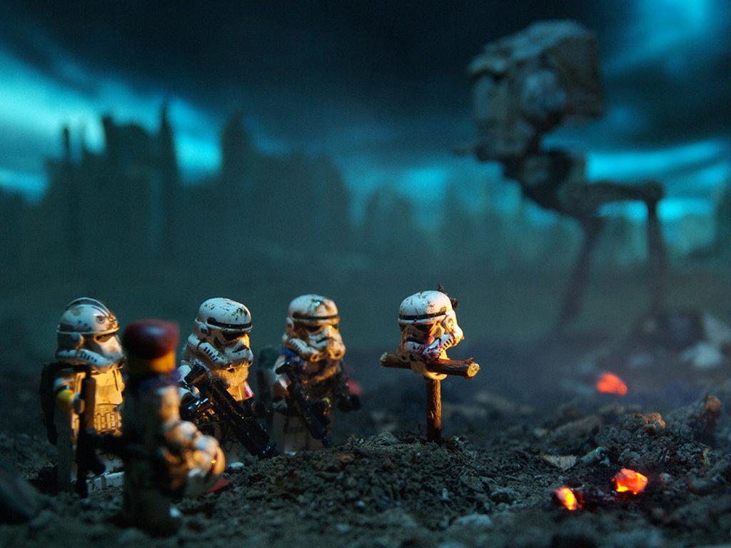 Star Wars Wallpaper: Stormtrooper - RIP
