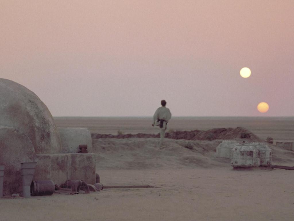 Star Wars Wallpaper: Suns of Tatooine