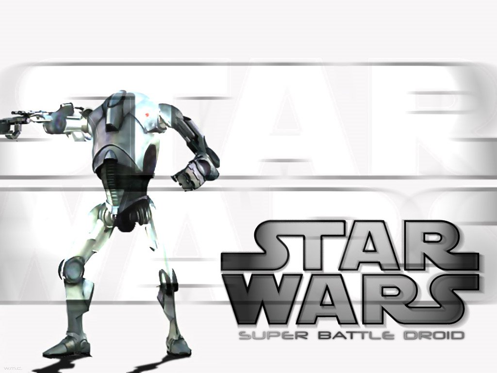 Star Wars Wallpaper: Super Battle Droid