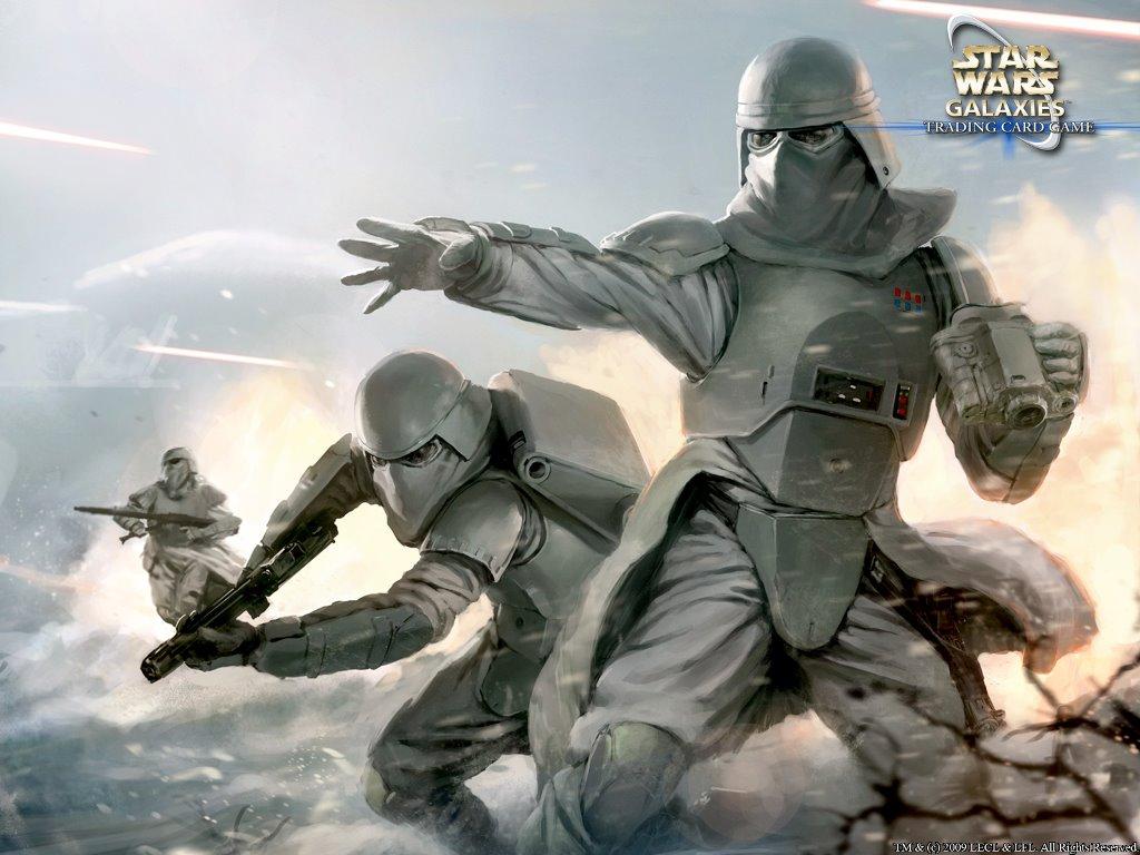 Star Wars Wallpaper: Snow Troopers
