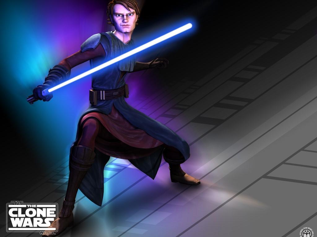 Star Wars Wallpaper: The Clone Wars - Anakim Skywalker