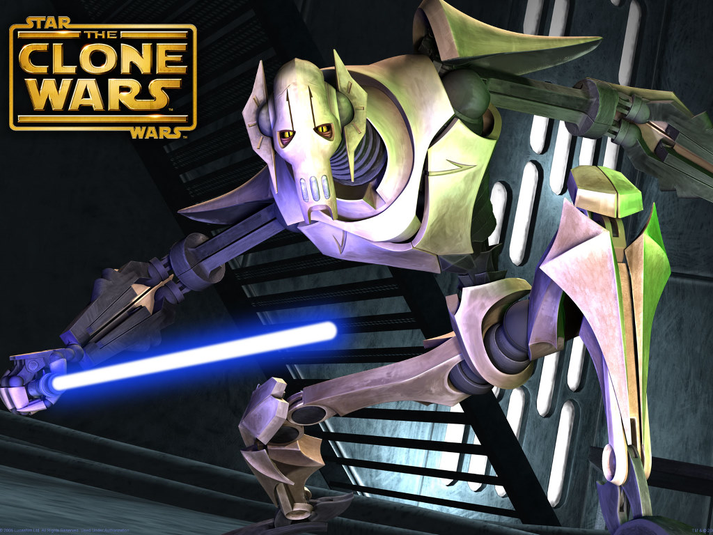 Star Wars Wallpaper: The Clone Wars - General Grievous