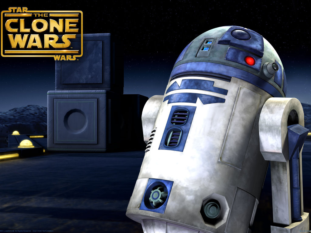 Star Wars Wallpaper: The Clone Wars - R2-D2