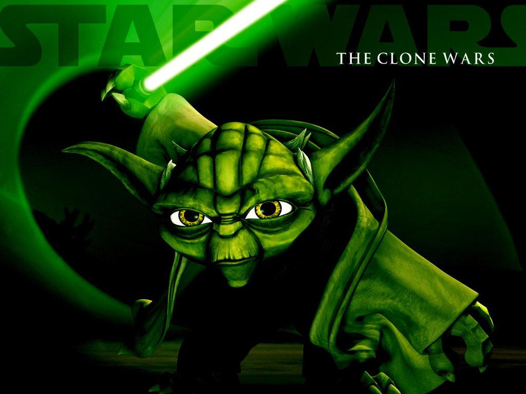 Star Wars Wallpaper: The Clone Wars - Yoda
