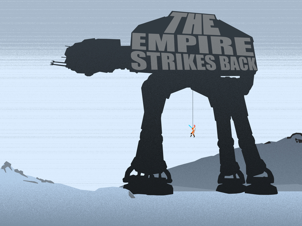 Star Wars Wallpaper: The Empire Strikes Back