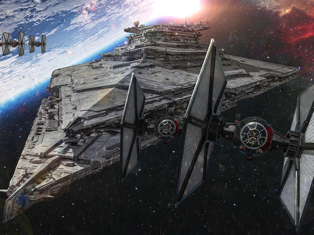 Star Wars Wallpaper: The First Order - Fleet