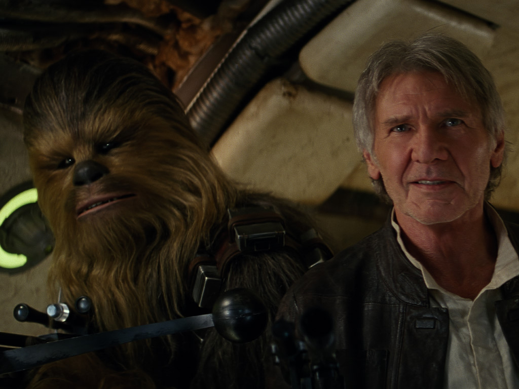 Star Wars Wallpaper: The Force Awakens - Chewie and Solo