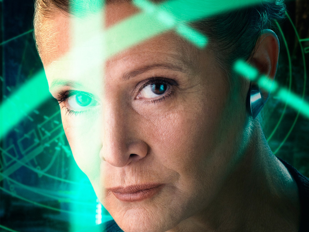 Star Wars Wallpaper: The Force Awakens - Leia