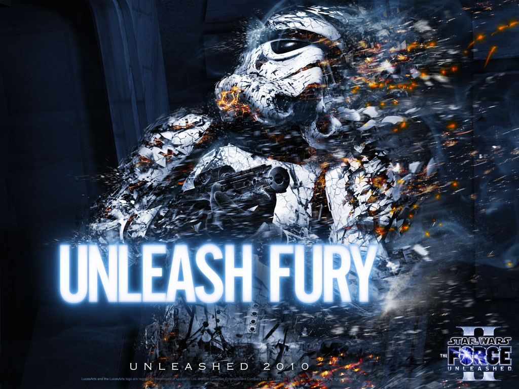 Star Wars Wallpaper: The Force Unleashed II - Unleash the Fury