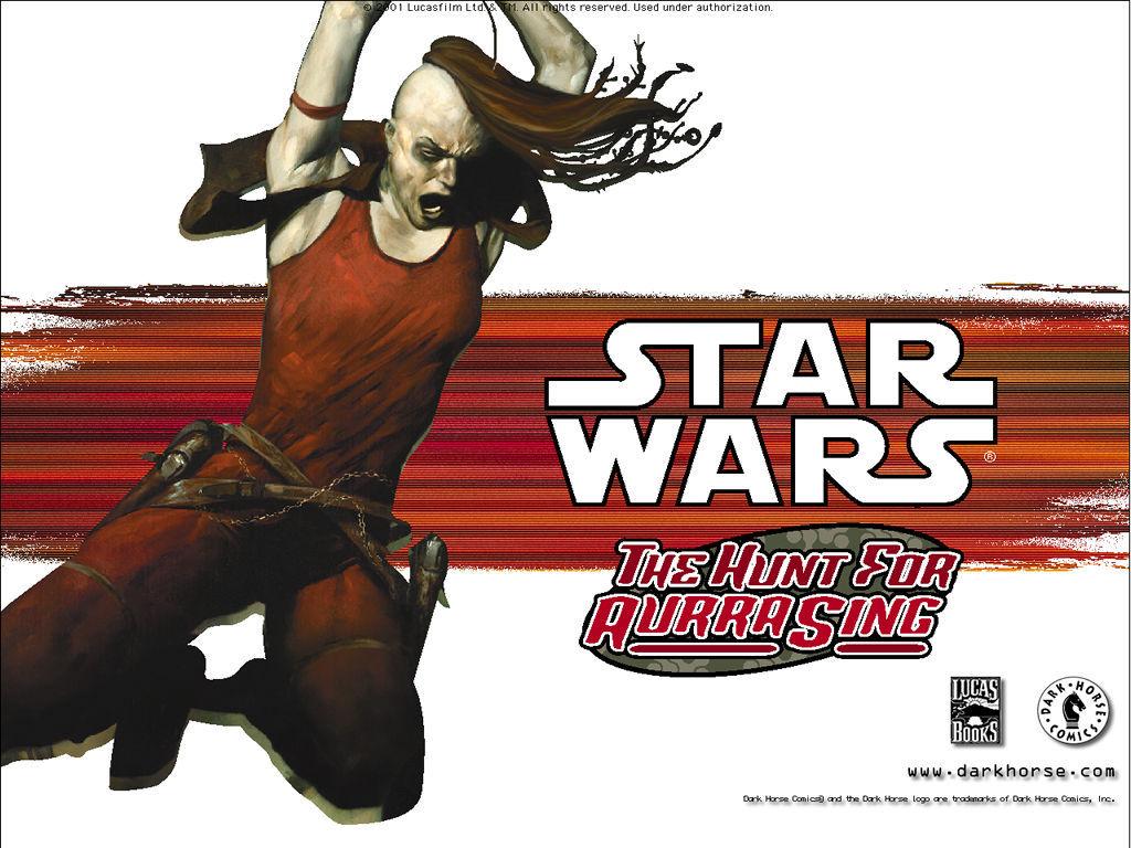 Star Wars Wallpaper: The Hunt for Aurra Sing